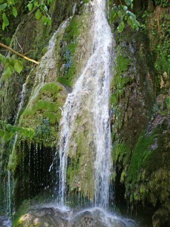 mountain waterfall near Krushuna Bulgaria photo