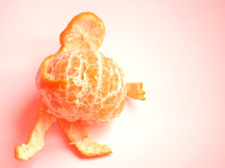 orange mandarine with glass ready to be juiced Stock Photo - 4068054