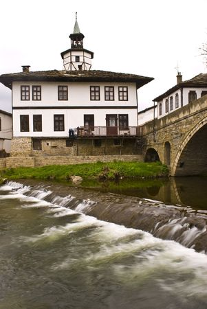 Tryavna - the bridge of sighes � old style historical city in North Bulgaria photo