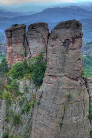large formation: rock formations - Belogradchishki skali Bulgaria