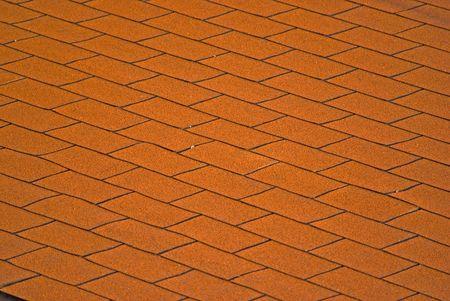 Fondo de textura de techo de tejas rojas Foto de archivo - 5859199