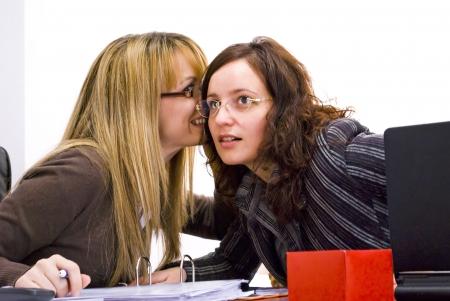 gossip: kantoor roddels tijdens de werk dag
