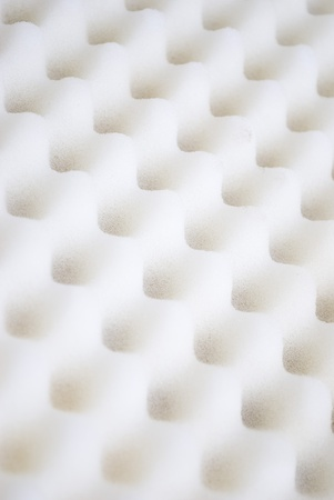 Closeup background of acoustic foam wall photo