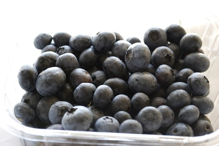 pile of blueberries isolated on white background Stock Photo - 11968826