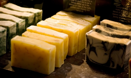 organic homemade herbal soaps on the market