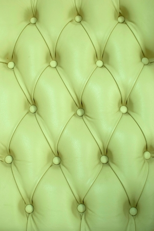 green antique leather sofa texture close up photo