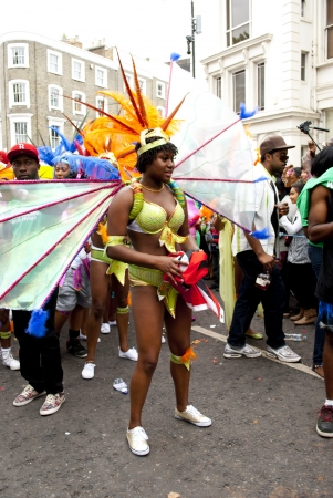 bailes latinos: Carnaval de Notting Hill