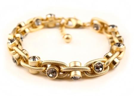 bracelet jewellery isolated on white background Stock Photo