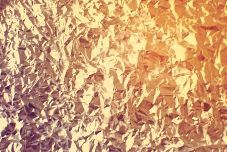 vintage riffle: abstract silver rough wrinkle foil texture background