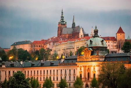 Beautiful old town Prague scenery, Czech republic