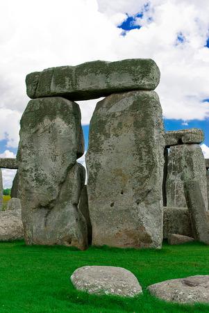 stonehenge: Historical landmark monument Stonehenge,England, UK