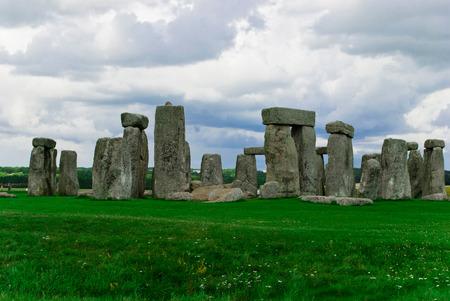 Historical landmark monument Stonehenge,England, UK photo