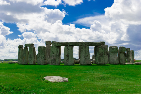 Historical landmark monument Stonehenge,England, UK photo