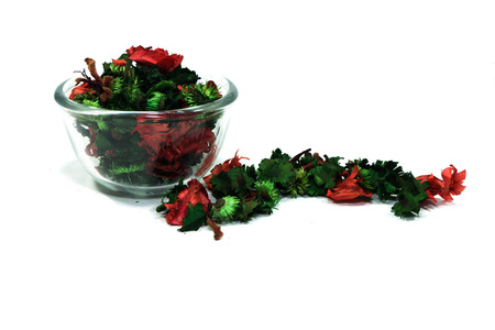potpourri: Fragrant natural potpourri with dried flowers, leaves and spices
