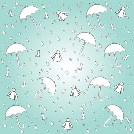 rainproof: rainy season elements  background