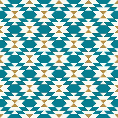 vector kilim geo teal seamless repeat backgorund pattern