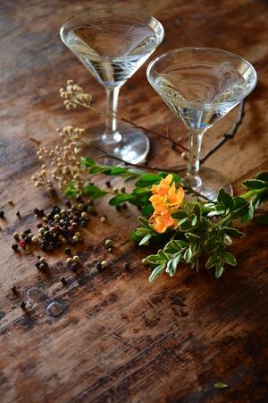 cocktails and botanicals