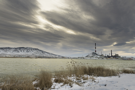 polluted cities: the most polluted place on the planet - Karabash