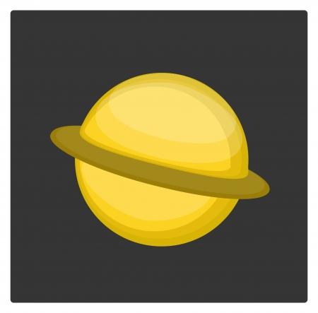 Saturne Banque d'images - 18027888