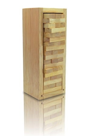 wood stacko Banque d'images