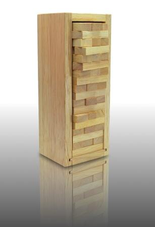 wood stacko Stock Photo - 18077179