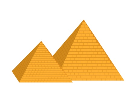 cheops: pyramid Illustration
