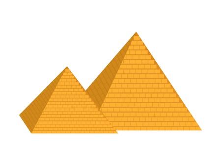 pyramid egypt: pyramid Illustration
