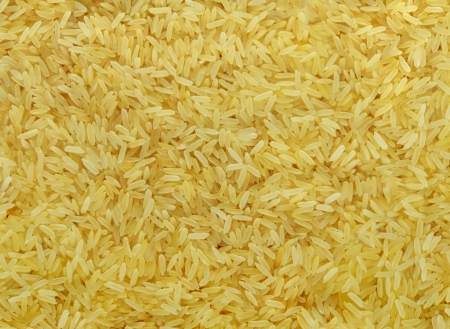 Steamed rice grain
