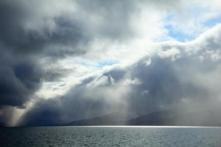 Skies of storm