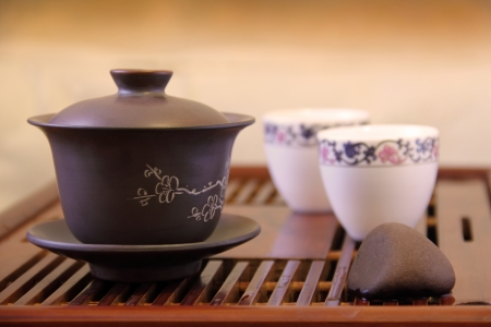 Gaiwan teabowl for Chinese Tea Ceremony photo