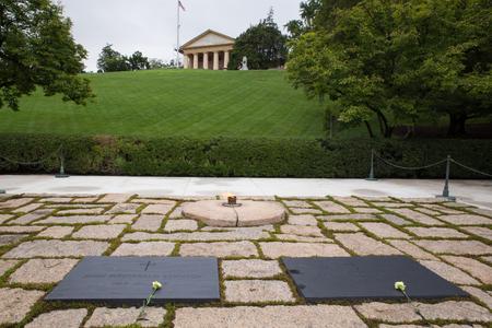 john fitzgerald kennedy: John F. Kennedy and First Lady Grave, Arlington Virginia