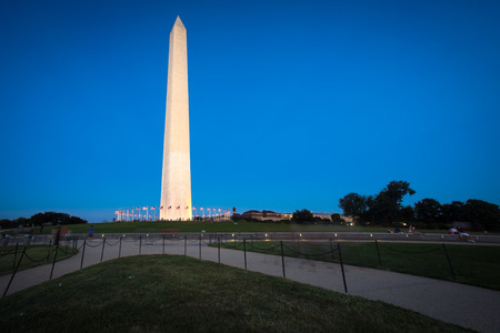dc: Washington Monument in DC