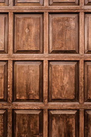 Wood texture with inlay wooden panels