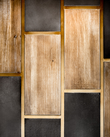 Abstract wood and tile backdrop texture