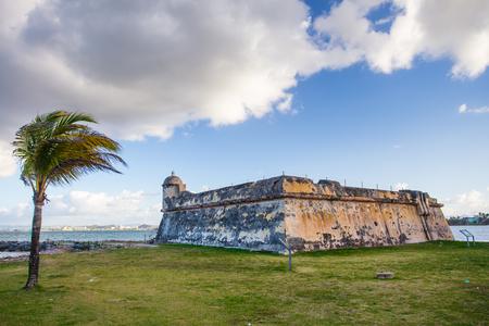 Historic Fort San Juan De La Cruz also known as El Canuelo from San Juan Puerto Rico