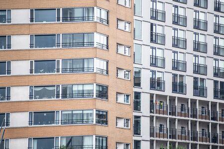 Apartment Building Architecture Stock fotó