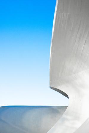 Futuristic Architectural Curved building Sajtókép