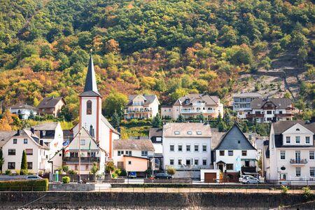 Kestert Germany seen from along the Rhine River Stock fotó