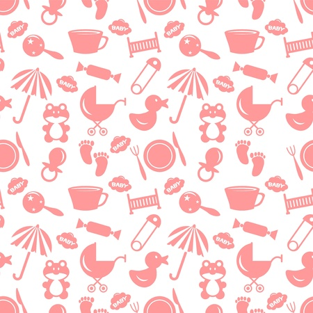 babyish: Babyish seamless pattern