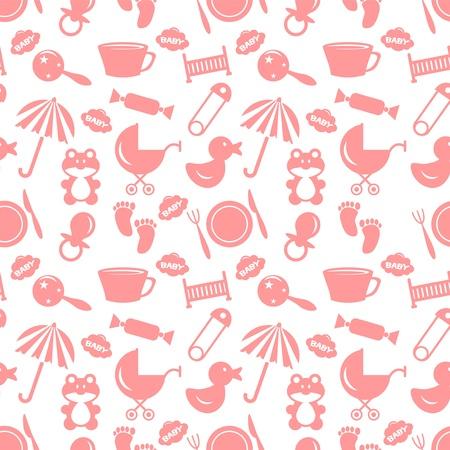 babyish: Babyish seamless pattern