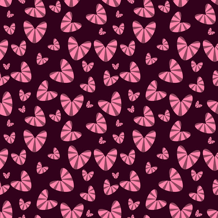 romantic: Romantic  seamless pattern with hearts.