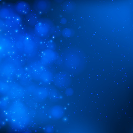 light blue: Abstract blue soft vector background with lights