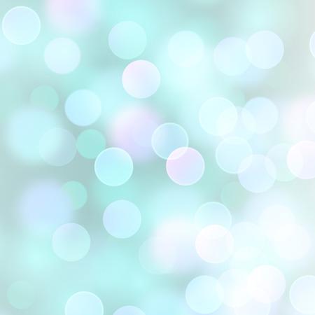Vector fundo abstrato realista com luzes de bokeh azul claro desfocado turva Foto de archivo - 83144020