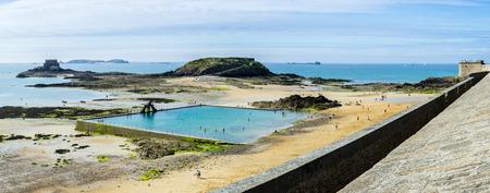 and saint: Saint Malo landscape Stock Photo