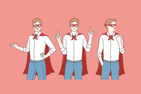 Business super hero or promotion. Imagens - 133555186