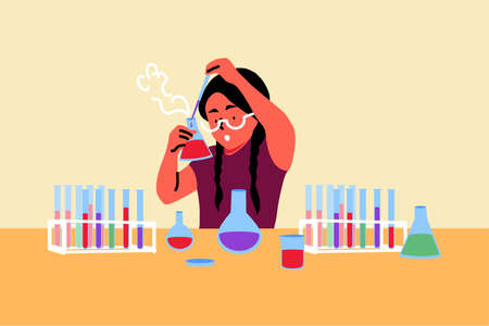 Science, chemistry, education, study concept