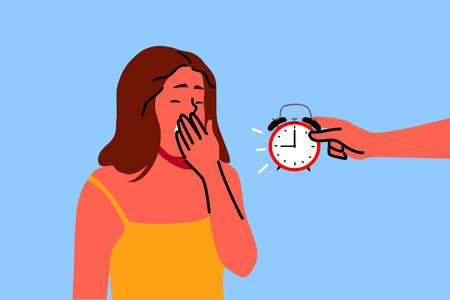Sleep, health, care, dream, relaxation concept Vektorgrafik