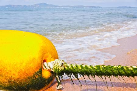 buoy: Alone Buoy at the beach