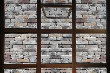servitude: Open window to the brick wall. No freedom