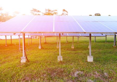 sun energy: Solar panel ,produces renewable energy,friendly energy from the sun.